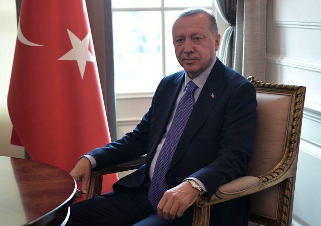 الرئيس التركي رجب طيب أردوغان في أنقرة، تركيا 16 سبتمبر 2019
