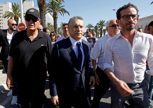 المرشح لانتخابات الرئاسة في تونس نبيل القروي