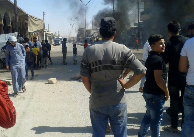 مدينة الشدادي جنوبي محافظة الحسكة، سوريا