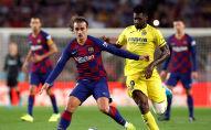 مباراة برشلونة وفياريال في الدوري الإسباني