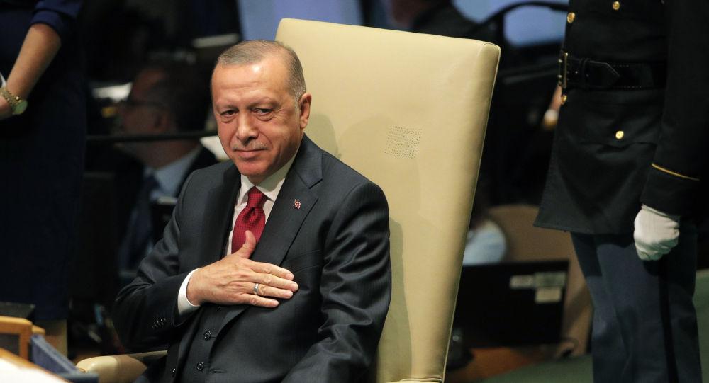 الرئيس التركي رجب طيب أردوغان يشارك في أعمال الجمعية العامة للأمم المتحدة