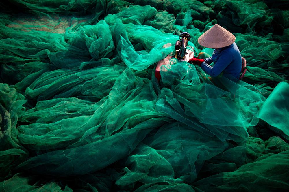 صورة بعنوان قلب المحيط، للمصور تران توان فيق، الذي وصل إلى نهائي مسابقة المصور البيئي لعام 2019