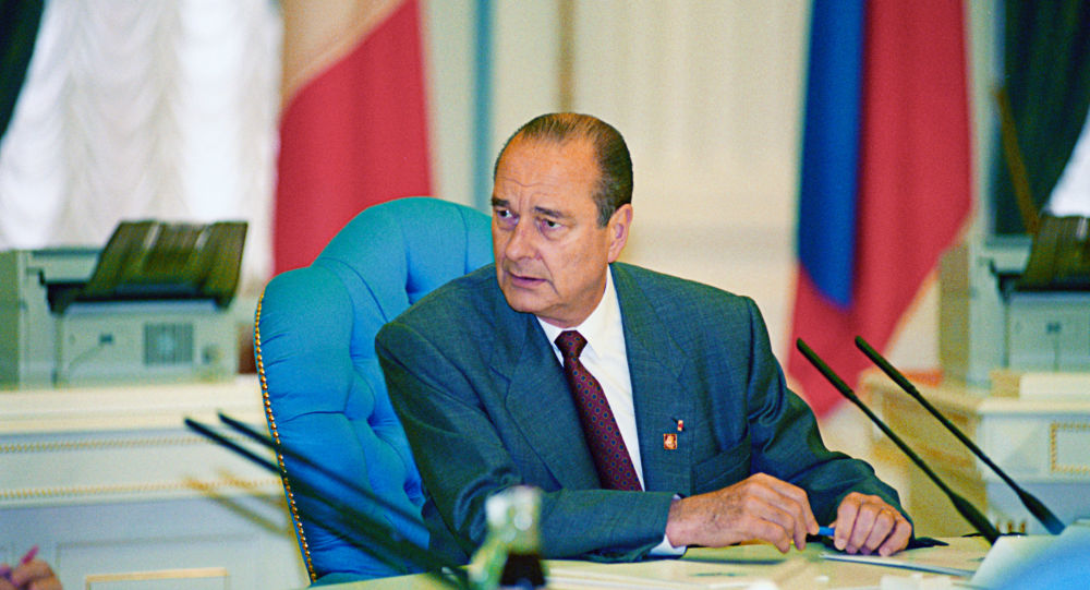 الرئيس الفرنسي السابق جاك شيراك
