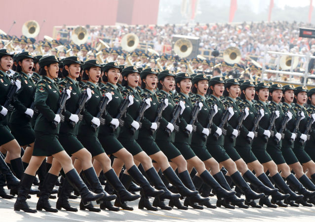 العرض العسكري للاحتفال بالذكرى الـ70 لتأسيس جمهورية الصين الشعبية في بكين، الصين 1 أكتوبر 2019