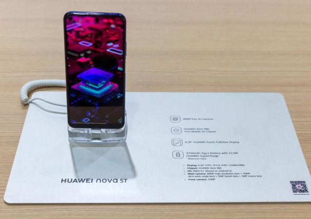 هاتف هواوي الذكي من نوع نوفا 5 تي