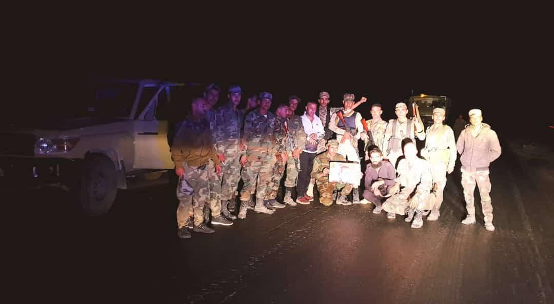 دخول الجيش السوري إلى مطار ومدينة الطبقة