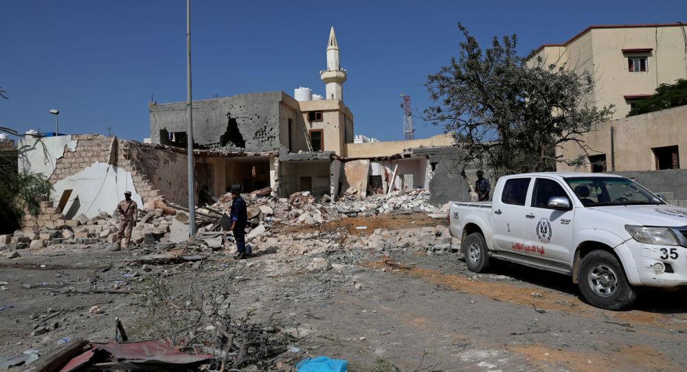 قصف في العاصمة الليبية طرابلس
