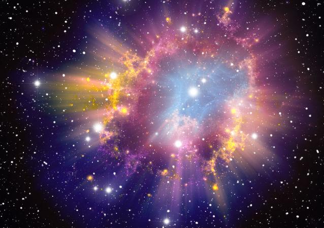 انفجار مستعر أعظم (سوبر نوفا)