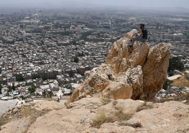 بانوراما دمشق من جبل قاسيون