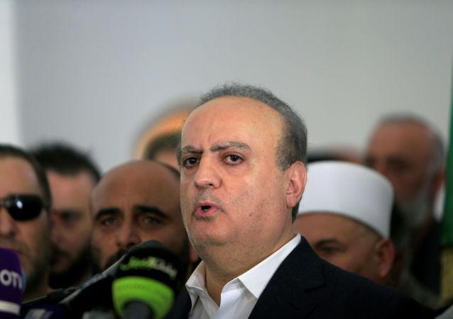 رئيس حزب التوحيد العربي الوزير اللبناني السابق وئام وهاب، 2018