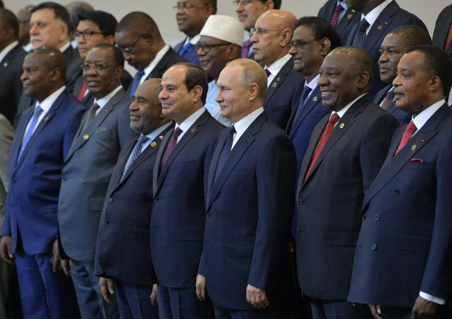 اليوم الثاني - قادة القمة الروسية الأفريقية روسيا - أفريقيا في سوتشي، 24أكتوبر 2019