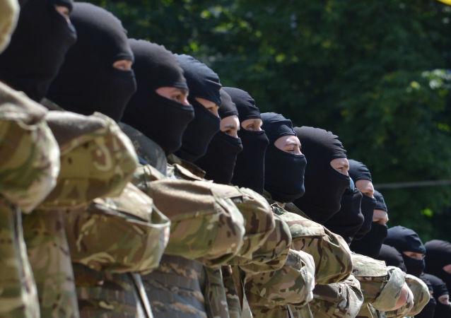 كتيبة ازوف من قوات العمليات الخاصة الأوكرانية