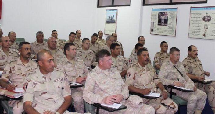تدريبات سهم الصداقة واحد في مصر، 2 نوفمبر 2019