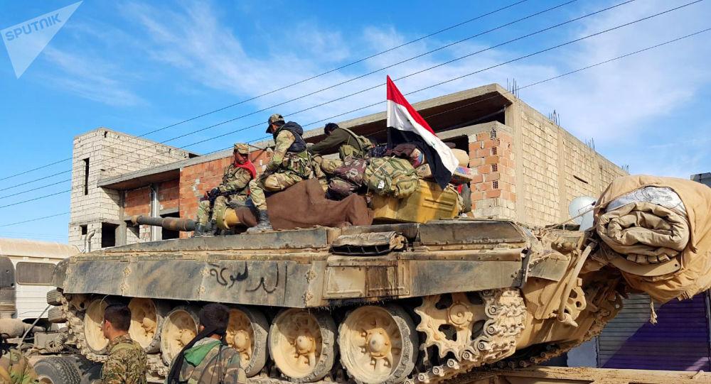 التقاء القوات السورية المتقدمة من الرقة والحسكة