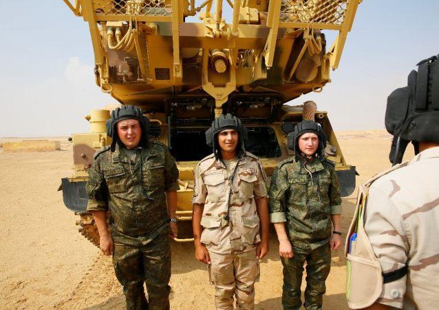 المناورات المصرية الروسية لقوات الدفاع الجوي سهم الصداقة 1