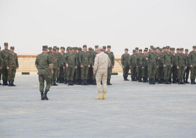 مناورات الدفاع الجوي سهم الصداقة 1 بين مصر وروسيا