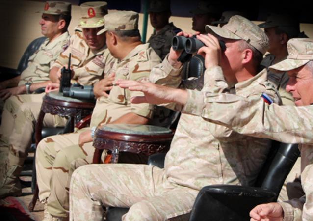 مناورات سهم الصداقة 1 المصرية الروسية للدفاع الجوي
