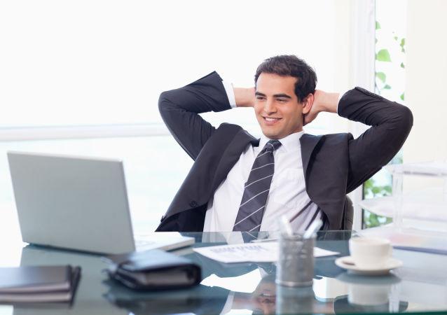 موظف في المكتب