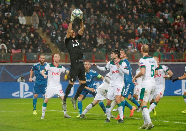 يوفنتوس ولوكومتيف في دوري الأبطال