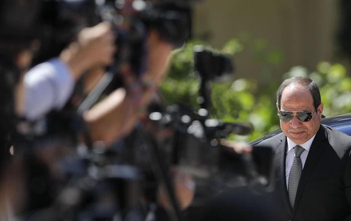 السيسي يبحث مع رئيس جنوب أفريقيا ملف سد النهضة والقضية الليبية
