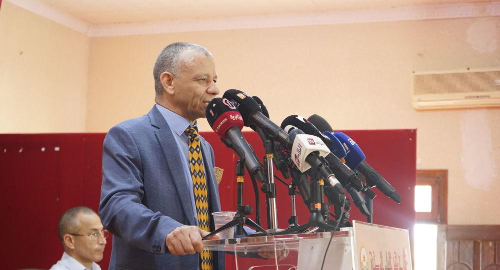 مرشح الرئاسة الجزائري عبد القادر بن قرينة