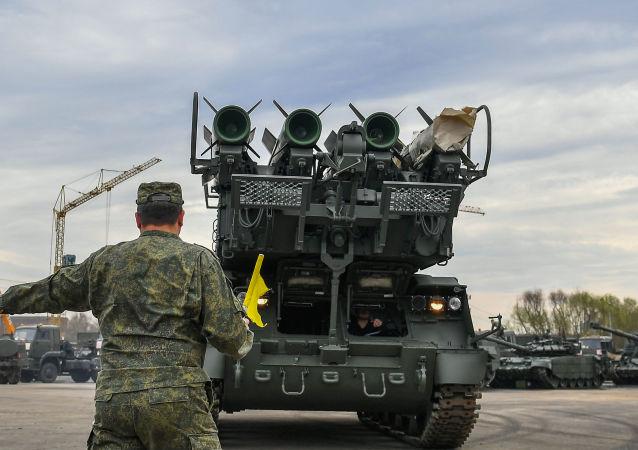 صواريخ بوك إم الروسية المضادة للطائرات