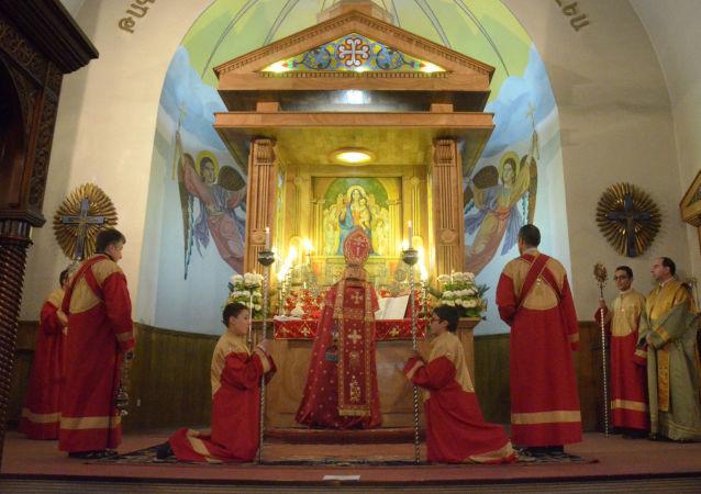كنيسة الأرمن في مدينة حلب السورية