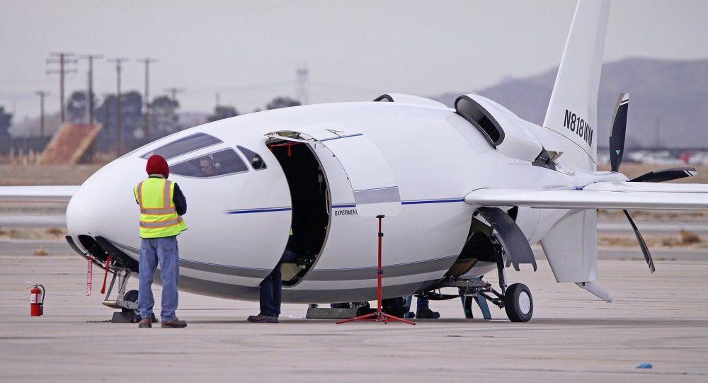 """الطائرة الأمريكية السرية """"سيليرا 500 إل"""" تقوم بأول رحلة لها 1043389556"""