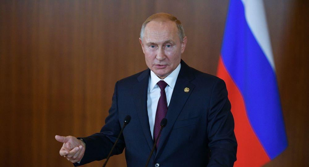 الرئيس الروسي فلاديمير بوتين في قمة دول البريكس