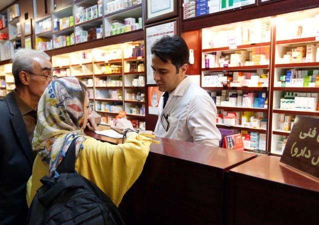 صيدلية في طهران