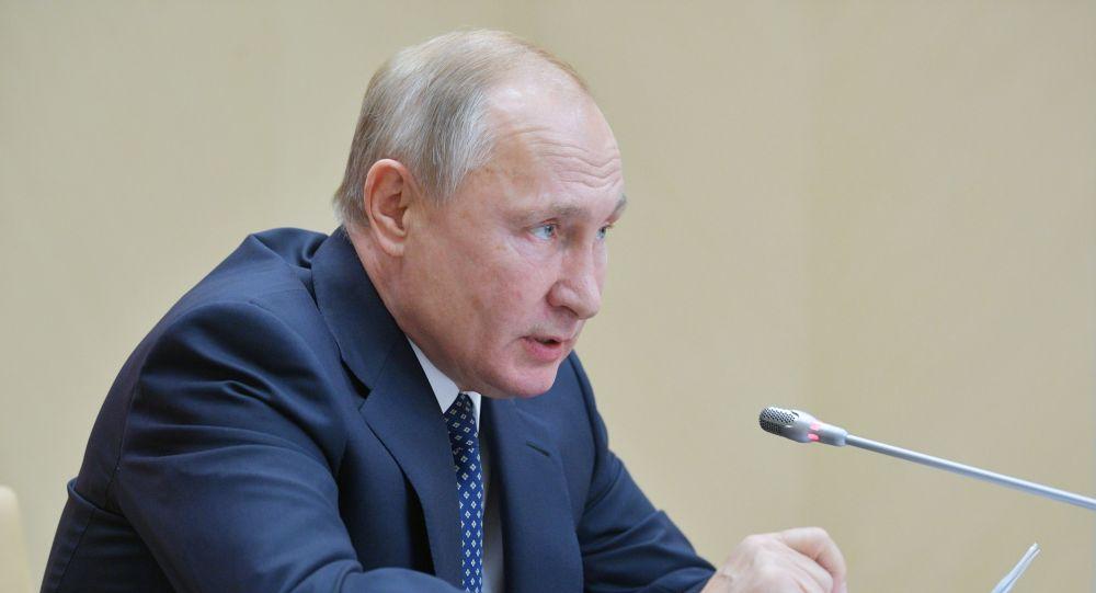 بوتين، خلال اجتماع لمجلس الأمن الروسي