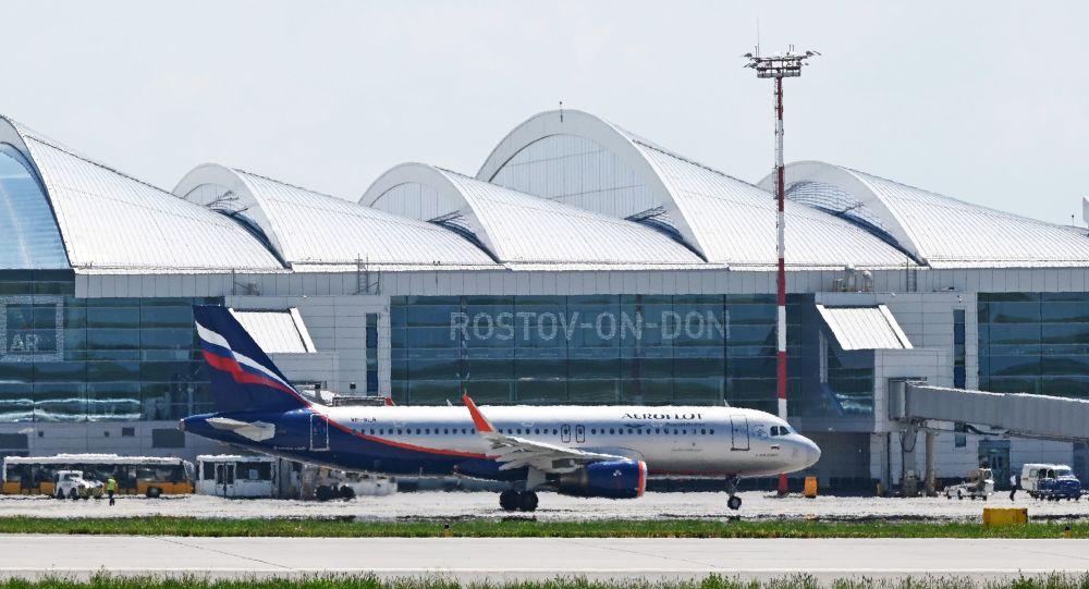 مطار بلاتوف الدولي في روستوف على الدون