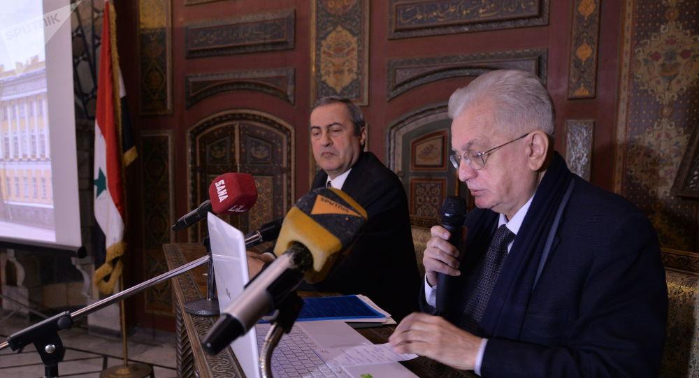 دمشق توقع مذكرة تفاهم مع الإرميتاج لترميم آثار تدمر