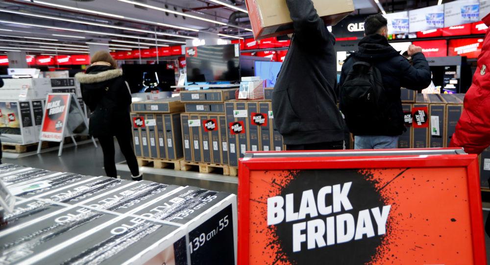 الجمعة السوداء في برلين، ألمانيا 29 نوفمبر 2019