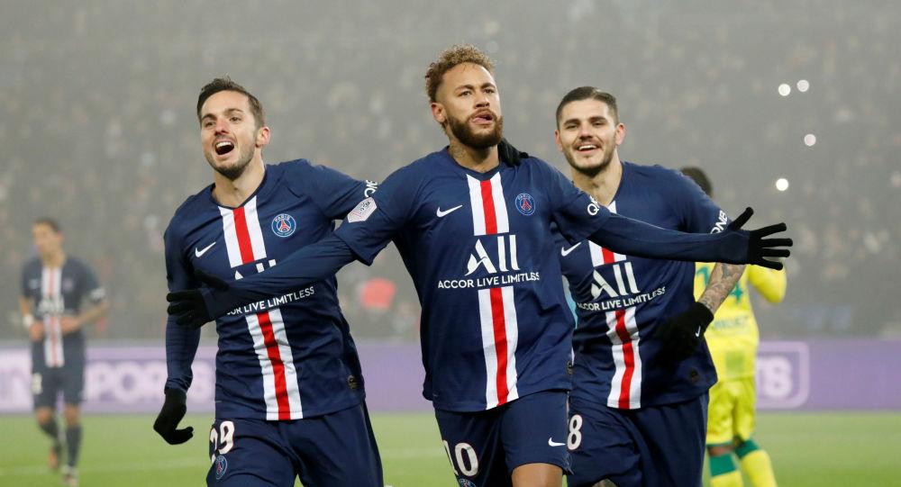 أهداف مباراة باريس سان جيرمان ونانت (2-0) في الدوري الفرنسي