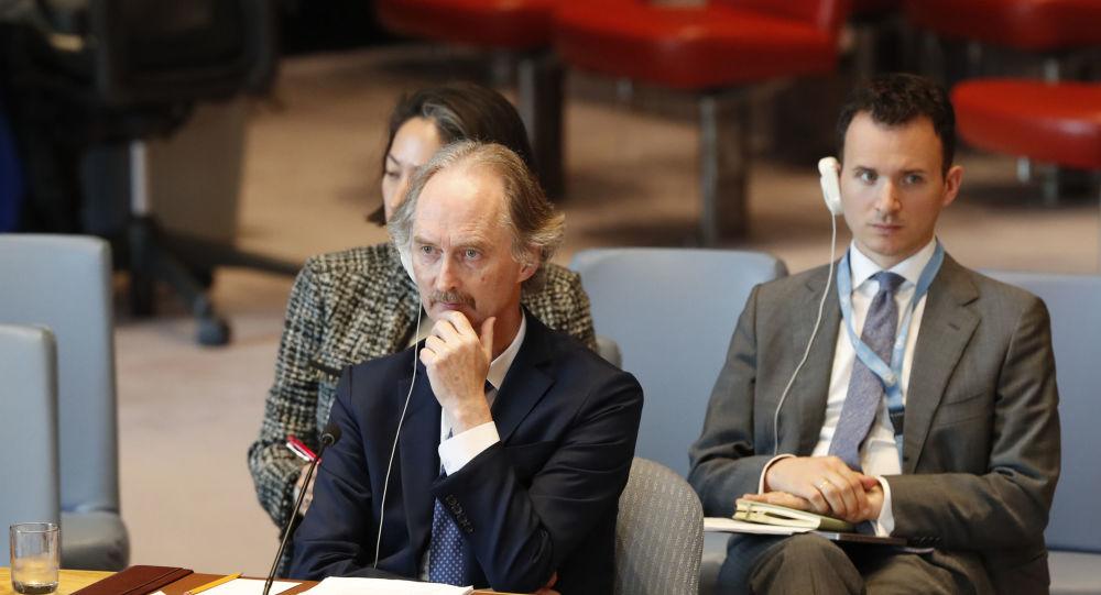 مساعد وزير الخارجية الإيراني وبيدرسون يبحثان تطورات الأزمة السورية