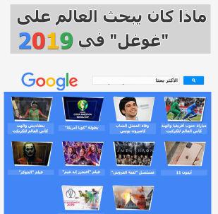 ماذا كان يبحث العالم على غوغل في 2019