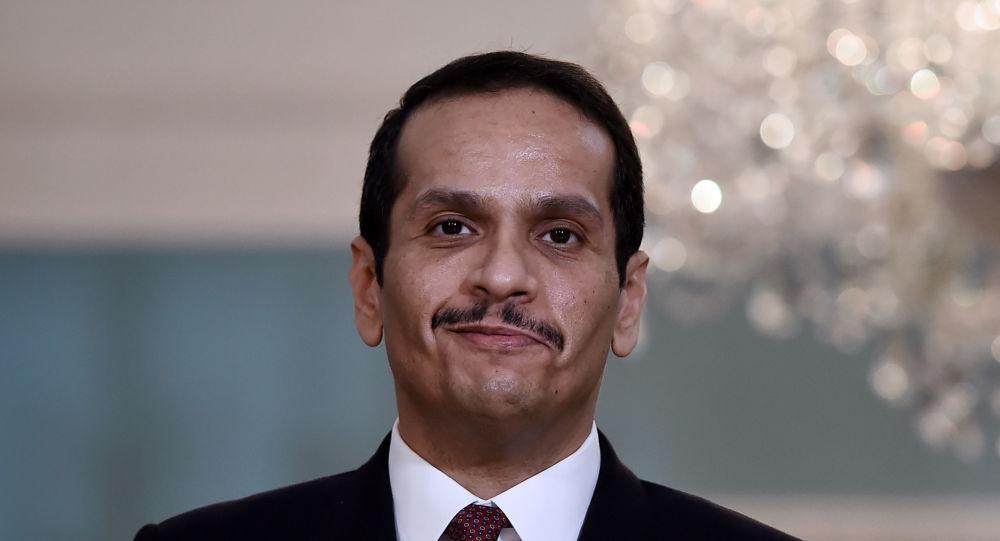 وزير الخارجية القطري محمد بن عبد الرحمن آل ثاني