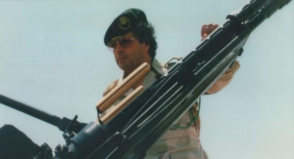 المسؤول السياسي لجبهة النضال الليبية أحمد قذاف الدم