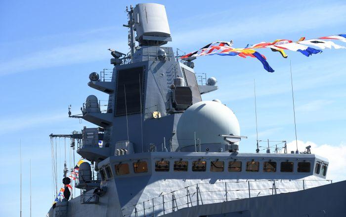 """تسليم فرقاطة """"الأدميرال كاساتونوف"""" إلى الأسطول الشمالي"""