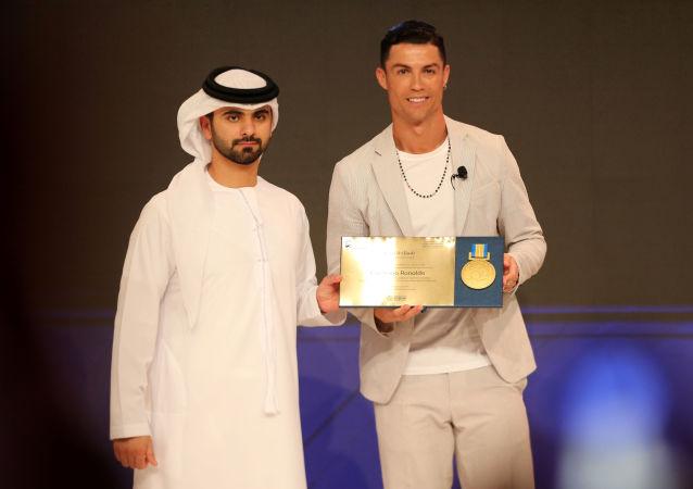 كريستيانو رنالدو في مؤتمر دبي الرياضي