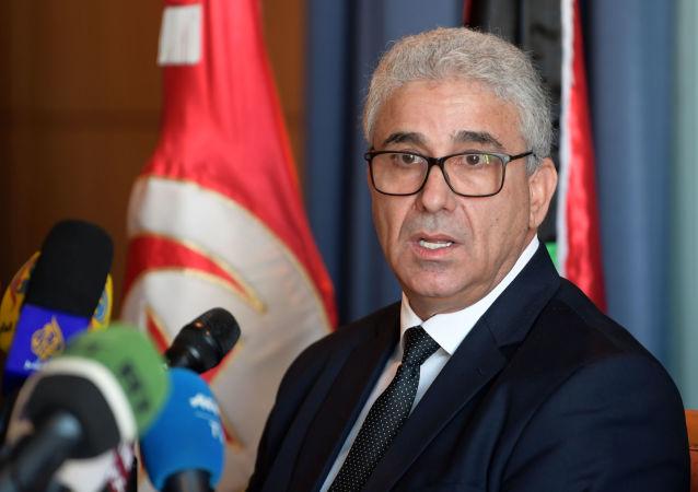 وزير الداخلية الليبي فتحي باشاغا