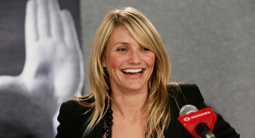 الممثلة الأمريكية كاميرون دياز