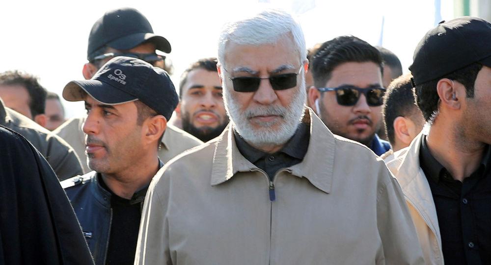 نائب رئيس هيئة الحشد الشعبي، أبو مهدي المهندس