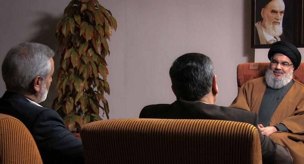 الأمين العام لحزب الله اللبناني حسن نصر الله
