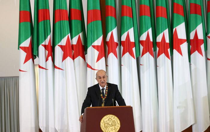 الرئيس الجزائري يستقبل رئيس مجلس النواب الليبي