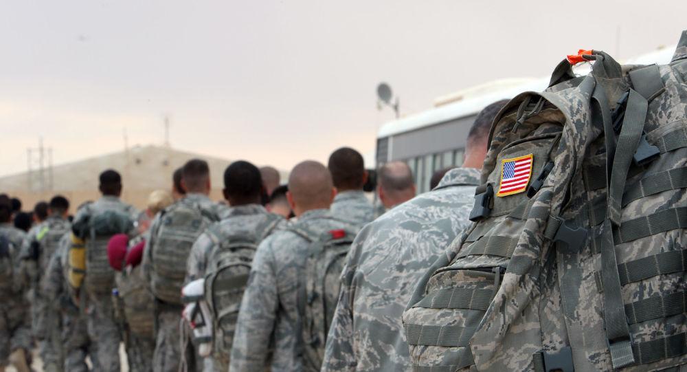 جنود أمريكيين داخل قاعدة عين الأسد في العراق