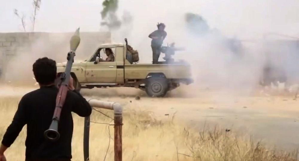 الجيش الوطني الليبي في طرابلس، ليبيا