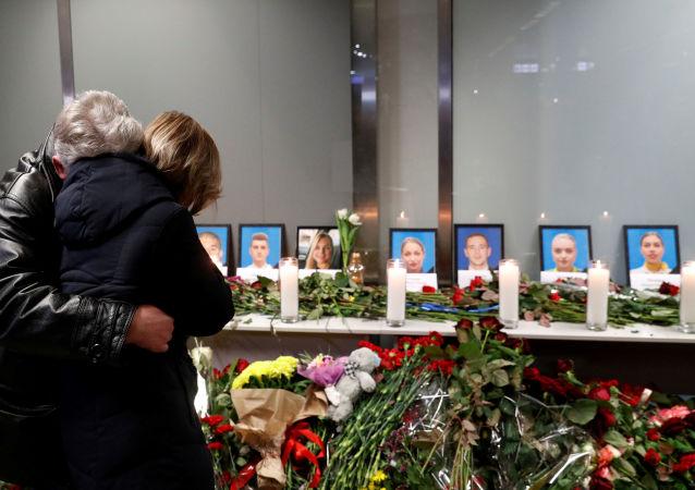 إحياء ذكرى ضحايا تحطم الطائرة الأوكرانية في إيران