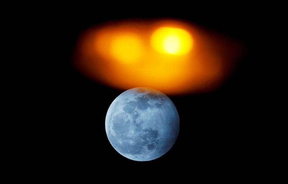 أول ظاهرة فلكية في عام 2020 - خسوف القمر في إسبانيا، 10 يناير 2020